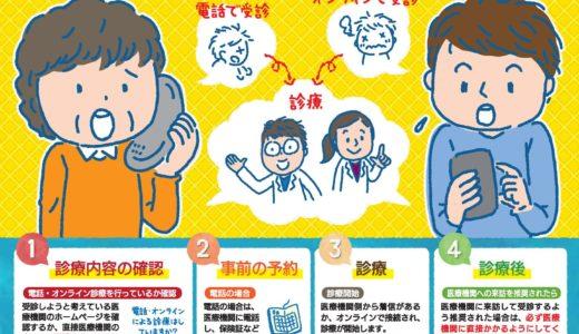【浜松市】オンライン診療対応病院まとめ!受け方や支払い方法!保険の通院給付は?